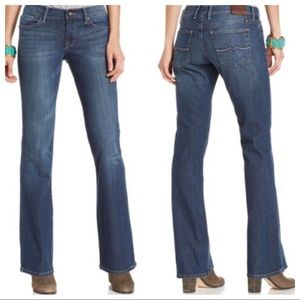 Lucky Brand Sweet N Low Boot Leg Blue Jeans